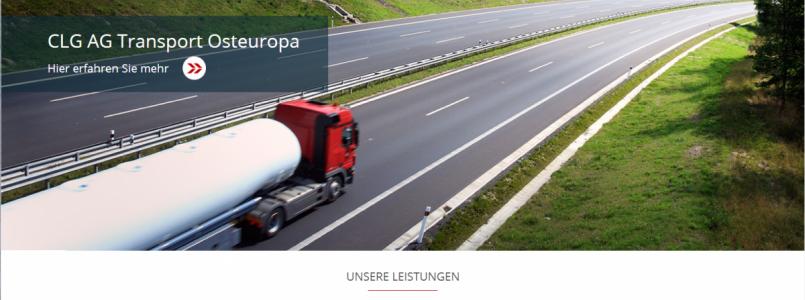 Neue Website clg.ch